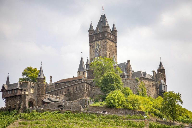 castillo gotico de cochem