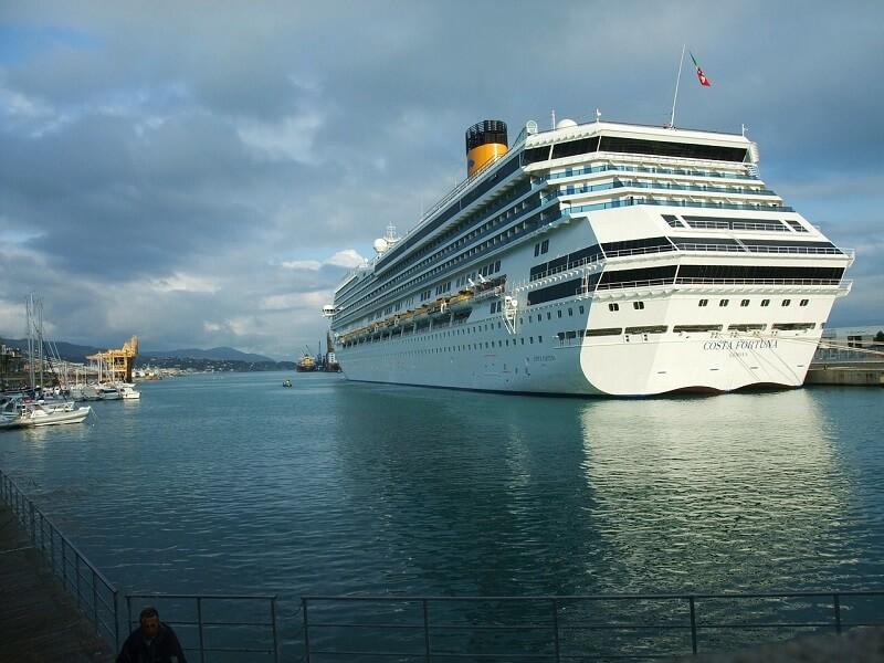como llegar a savona desde el puerto