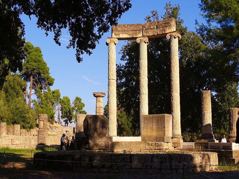 Las Ruinas de la Ciudad de Olimpia