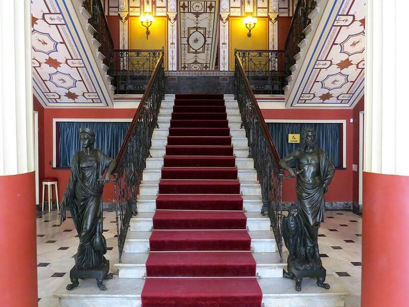 Palacio Achilleion (Palacio de la Emperatriz Sissi)