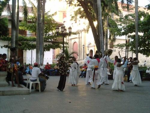 plaza de la trinidad cartagena de indias