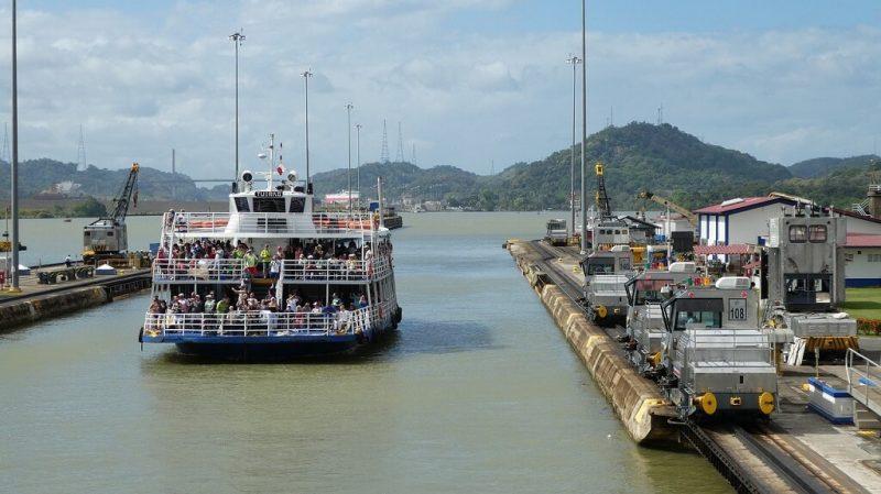 rutas canal de panama colon
