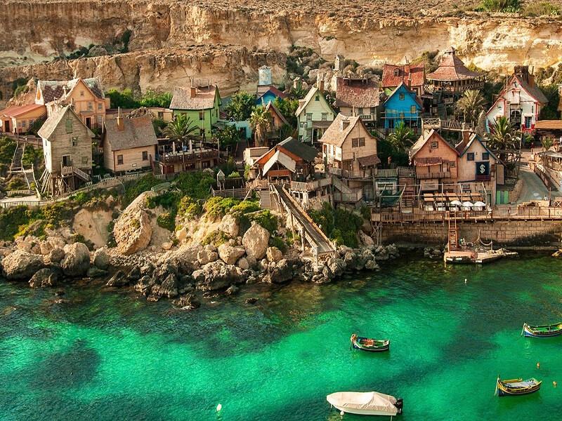 Aldea de popeye, Malta