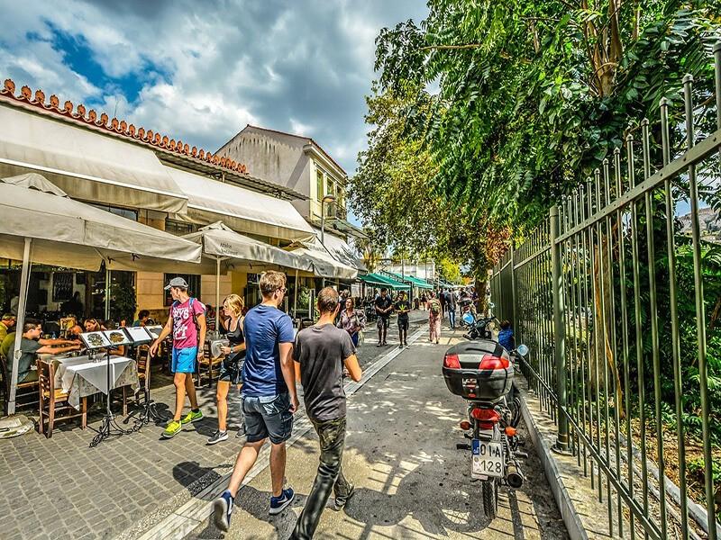 Barrio Plaka, Atenas