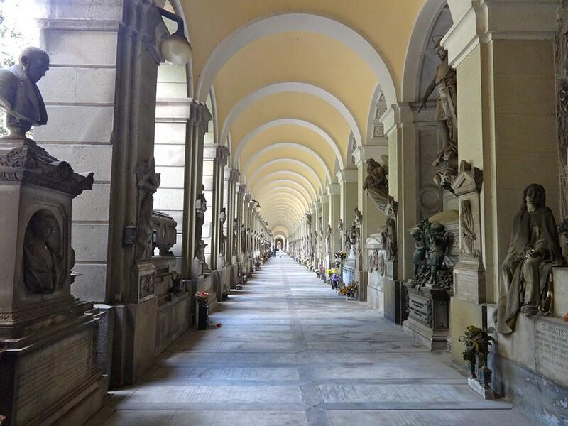 Cementerio Monumental, Genova