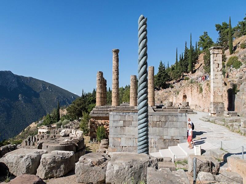 Delfos, Atenas