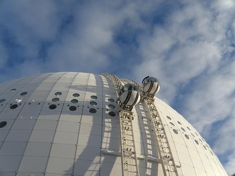 Globo Ericsson, Estocolmo