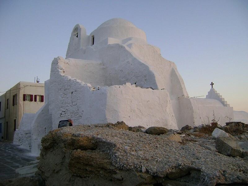 Iglesia de Paraportiani, Mykonos