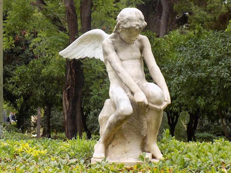 Jardines Nacionales, Atenas