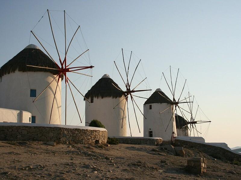 Molinos de Viento, Mykonos