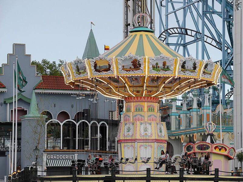 Parque de atracciones Grona Lunds Tivoli, Estocolmo