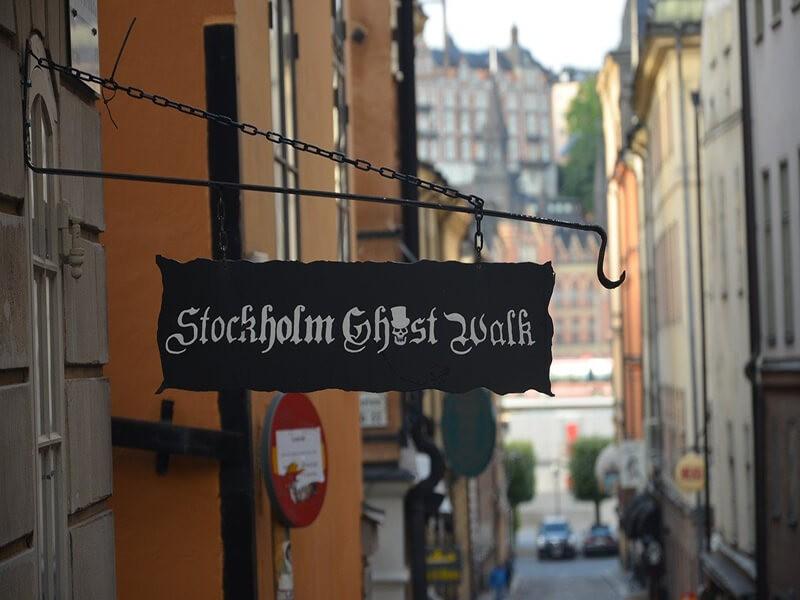 Paseo con fantasmas, Estocolmo