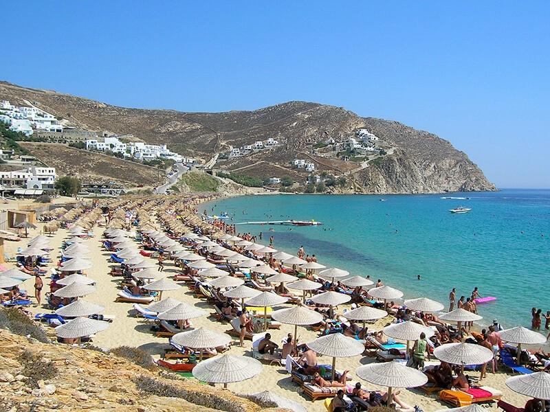 Playa Elia, Mykonos