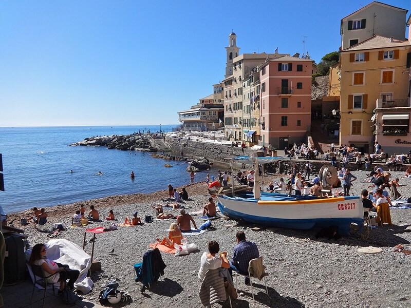Playa de Boccadasse, Genova