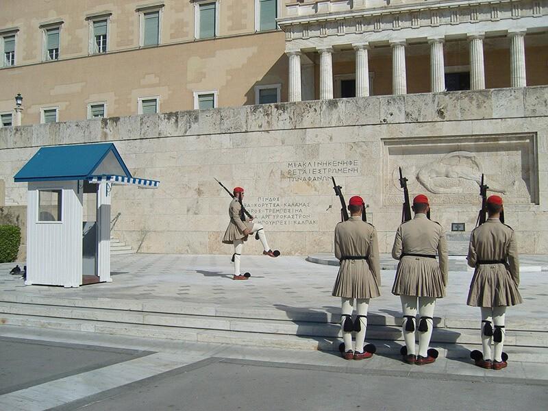 Plaza Sintagma, Atenas