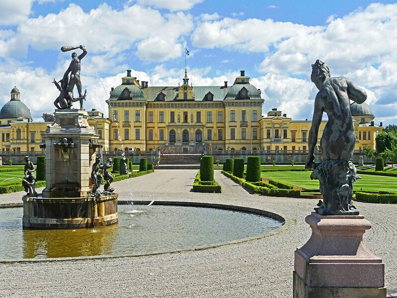 palacio drottningholm, Estocolmo
