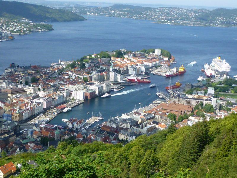 escalas cruceros noruega