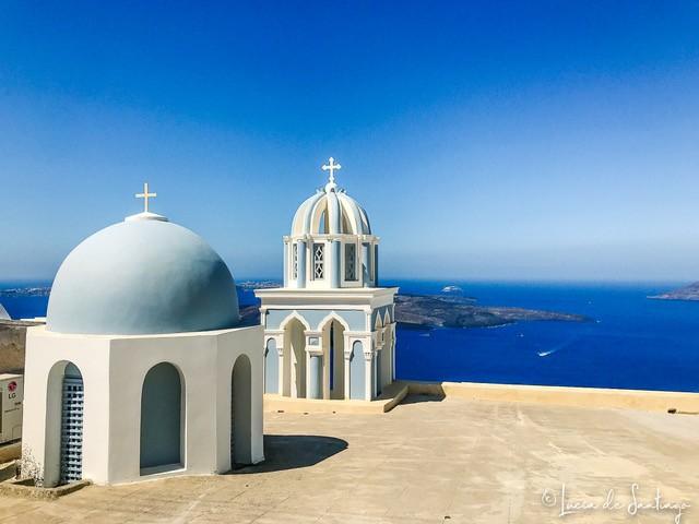 que ver en Santorini en un dia de crucero