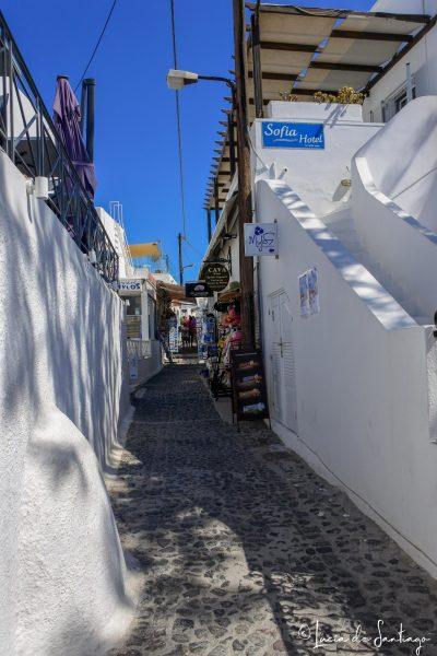 calles Santorini